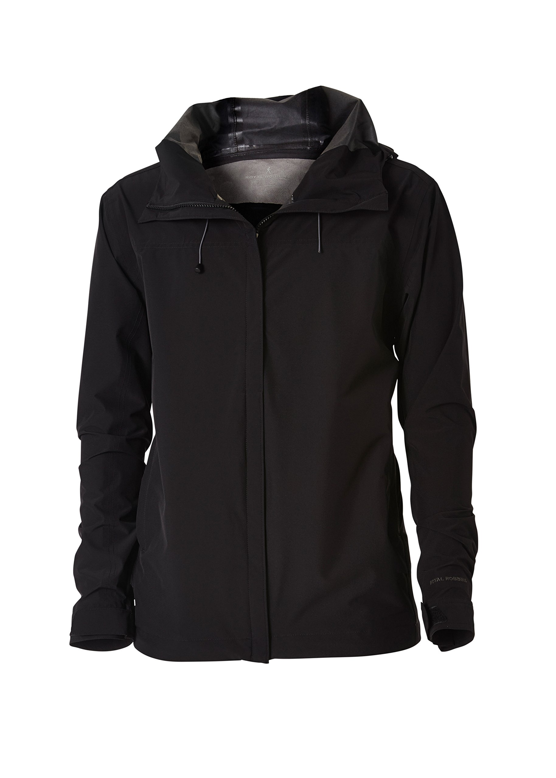 Royal Robbins Men's Oakham Waterproof Jacket, XX-Large, Jet Black