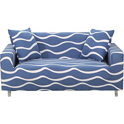 Wonderful FORCHEER Stretch Striped Sofa Slipcover For Furniture Sofa Couch Covers For  3 Cushion Couch Pattern(