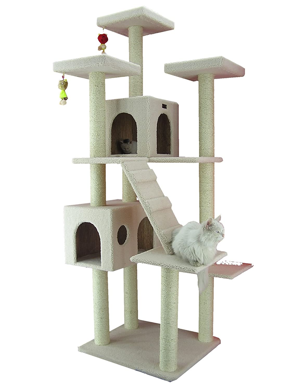 Amazon.com: Cat Houses & Condos - Cat Trees & Condos: Pet Supplies