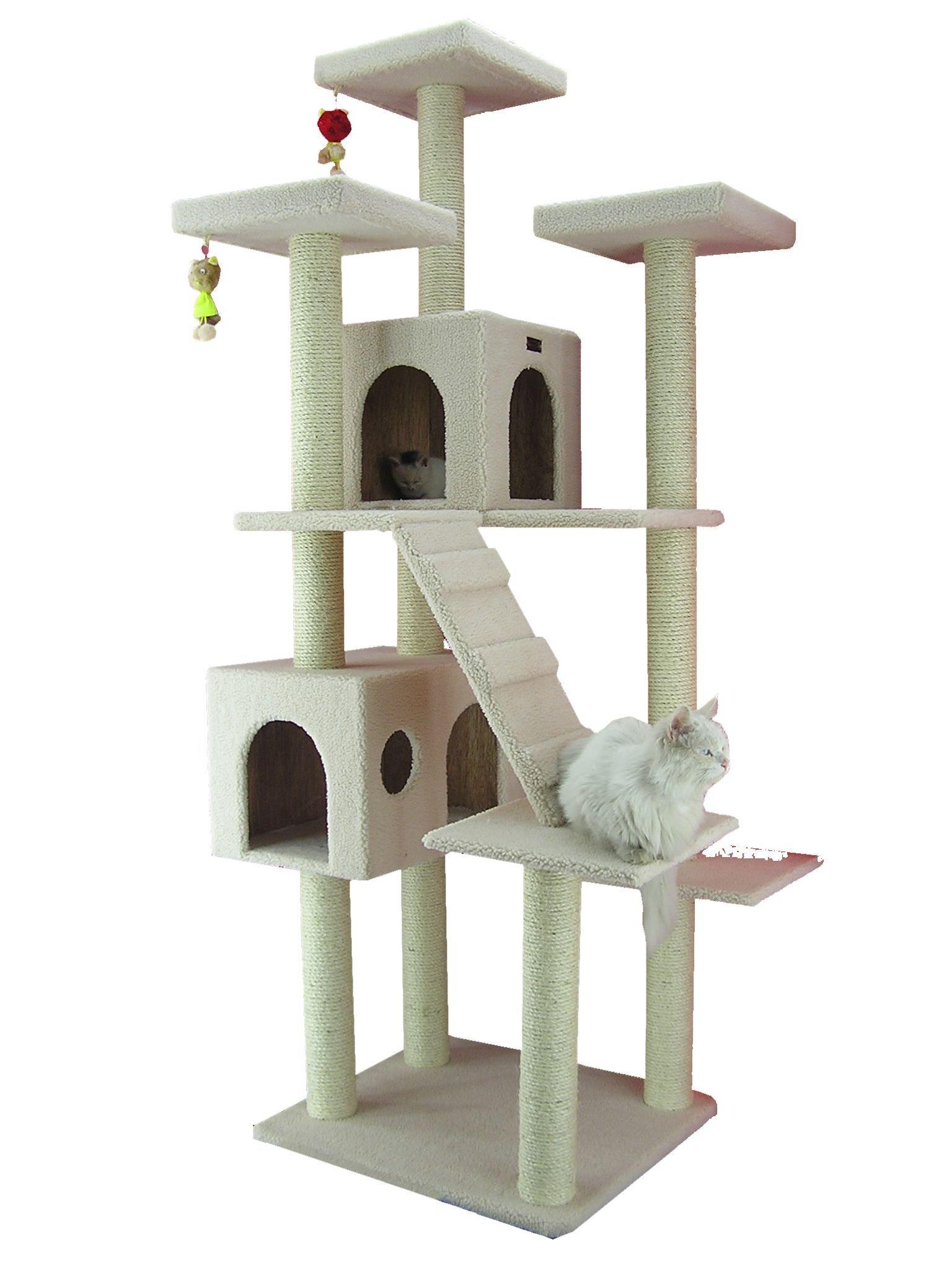 Armarkat Cat Tree Model B7701, Ivory