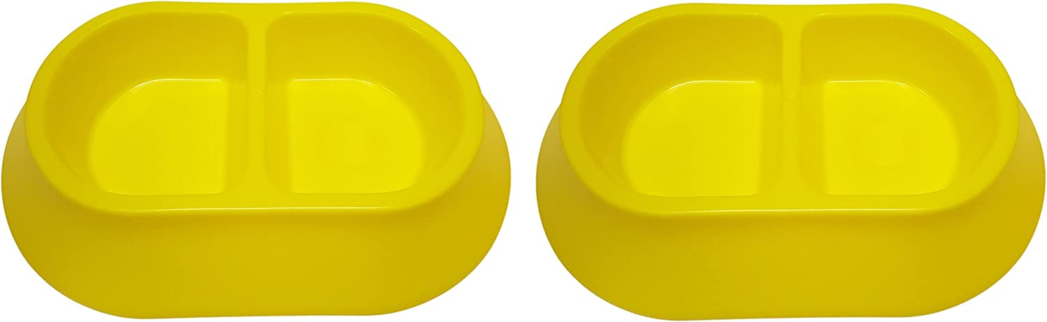 Black Duck Brand Set of 2 Large Pet Bowls! 3 and 6 BPA Free!