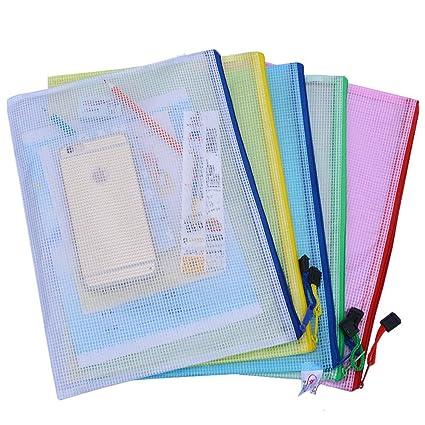 Cremallera de plástico bolsas de archivos Documento Archivo ...