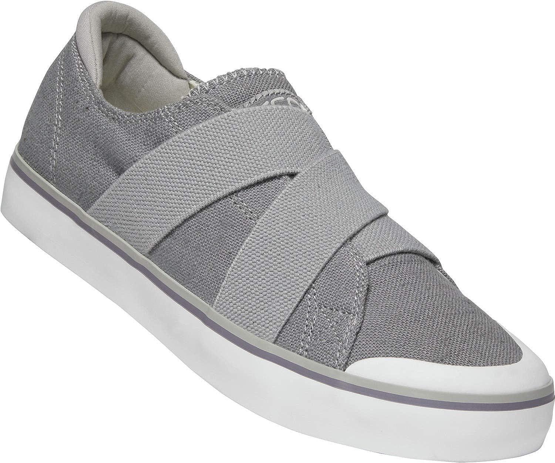 10.5 M US Womens Elsa III Gore Slip Shoes Steel Grey Keen