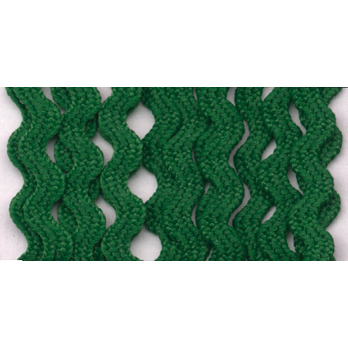 Wrights 117-400-044 Polyester Baby Rick Rack Utility Trim, Emerald, 4-Yard Notions - In Network