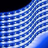 Zone Tech 30cm Flexible Waterproof Blue Light Strips – 8-Pack LED Car Flexible Waterproof Blue Light Strips