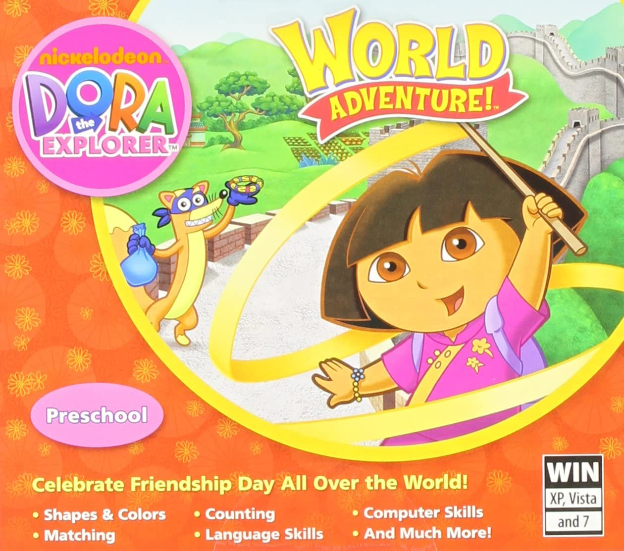 Amazon.com: Dora The Explorer:World Adventure (JC) - PC: Video Games
