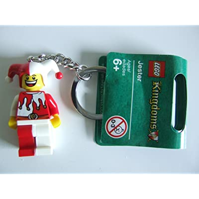 LEGO Kingdoms Court Jester Key Chain 852911: Toys & Games