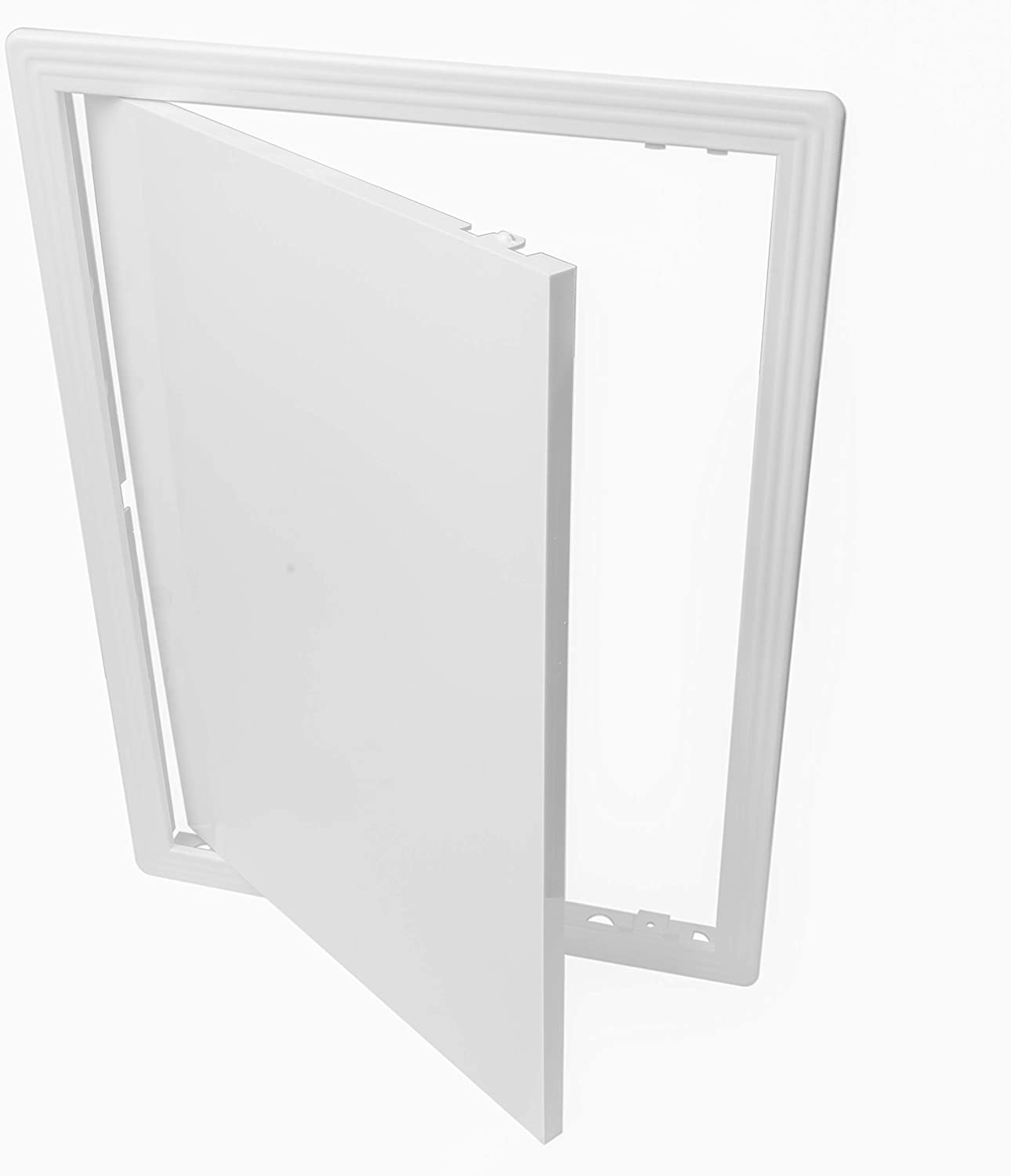 Easy Access Doors Vent Systems 12x16 Access Panel ABS Plastic Access Panel for Drywall Wall and Ceiling Electrical and Plumbing Service Door Cover