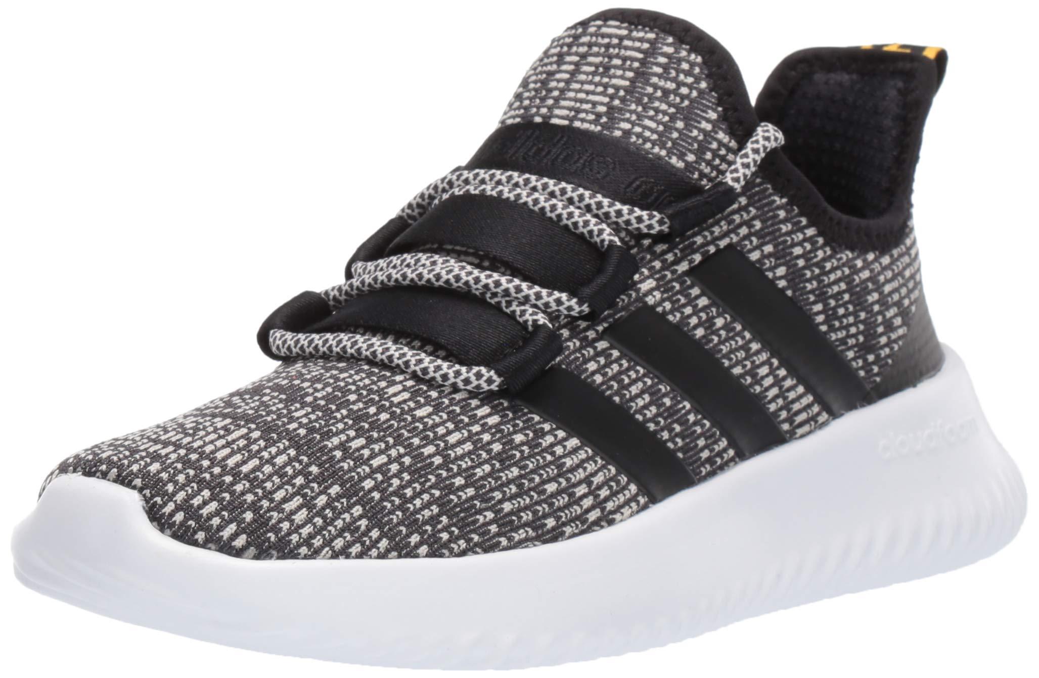 adidas Unisex Kaptur Sneaker, Grey/Black/raw White, 4.5 M US Big Kid