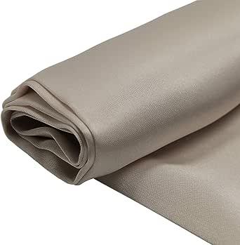 Silk Stan Fabric, 44 Inch x 25 Yard, Beige