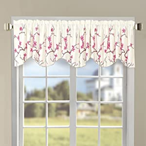 Home Soft Things Serenta Classic Embroidery Valance, 60