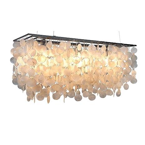 Invicta Interior Shell Reflections - Lámpara de techo, 80 cm ...