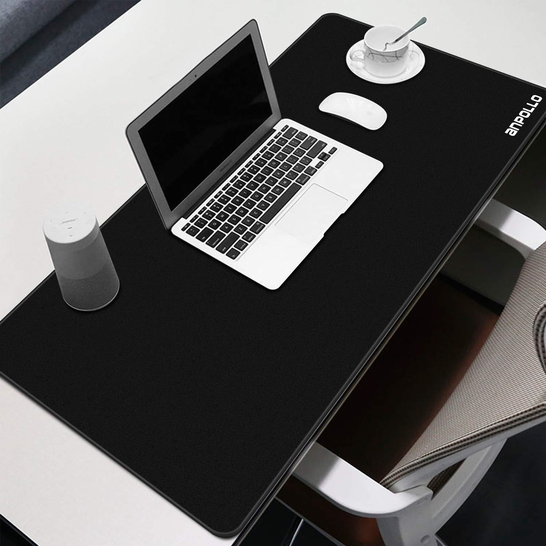 900x400mm Mouse Pad Laptop Bordi Cuciti per Tastiera Resistente allAcqua con Superficie Liscia Tappetino per Mouse da Gioco Anpollo Tappetino Mouse Gaming Grande XXL