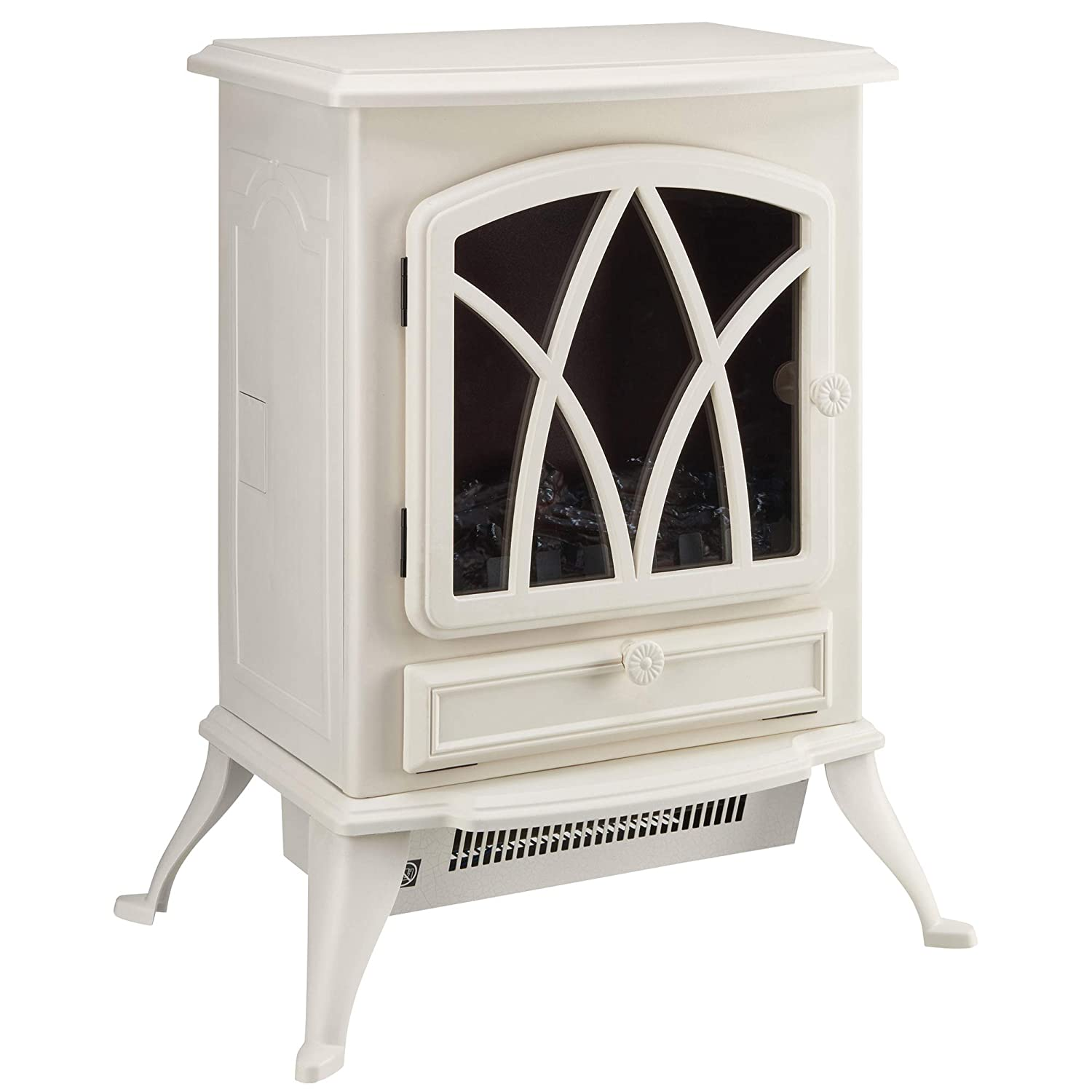 DIY & Tools Electrical Fireplaces Large, Grey Portable ...