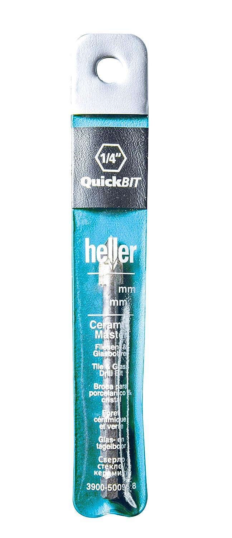 Heller 50097 QuickBit CeramicMaster Glas- /& Fliesenbohrer 10 x 85 mm Durchmesser: 10 mm Arbeitsl/änge: 85 mm 1 V