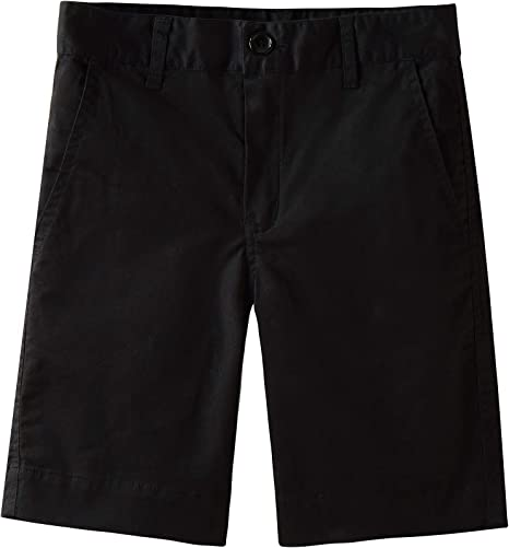 Spring/&Gege Boys Cotton Twill Flat Front Uniform Stretch Chino Shorts