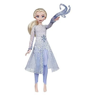 Disney Frozen Magical Discovery Elsa Doll with Lights and Sounds, Toy for Kids Inspired 2 Movie: Toys & Games