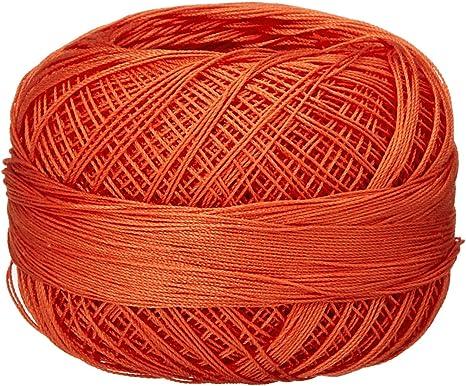 Autumn Orange Medium Lizbeth Size 80 HH80 Lizbeth Cotton Thread 184 yds 10 Grams