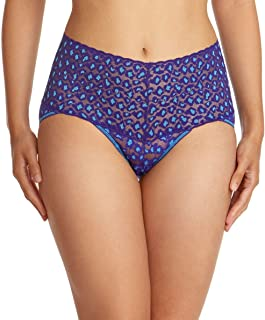 product image for Hanky Panky Leopard Retro V-kini (Cross Dyed),Large,Night Sky/Laguna