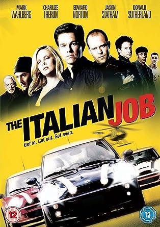 The Italian Job Uk Import Amazonde Mark Wahlberg Charlize
