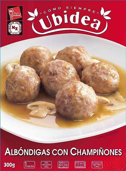 Albóndigas con Champiñones - Ubidea - 3 platos