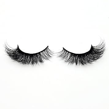 a376827b49d Amazon.com : Visofree False Lashes 3D Noire Mink Eyelashes Glamour Volume  Upper Lashes/False Lashes : Beauty