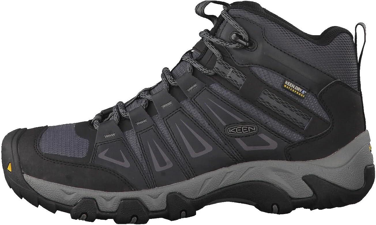 KEEN Men's Oakridge Mid Waterproof Shoe