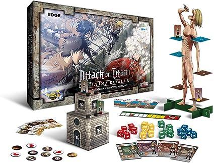 Edge Entertainment Attack on Titan La última Batalla (EEDPAT01): Amazon.es: Juguetes y juegos