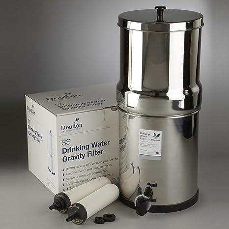 Super Sterasyl Purificador de agua por gravedad de acero ...