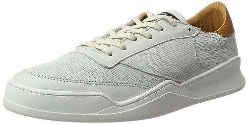 Replay Whames, Zapatillas para Hombre, Blanco (Off White Tan 809), 42 EU: Amazon.es: Zapatos y complementos