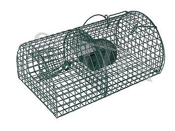 Trampa para ratas/animales pequeños 40x24x18cm - Trampa para captura masiva / Trampa tipo jaula