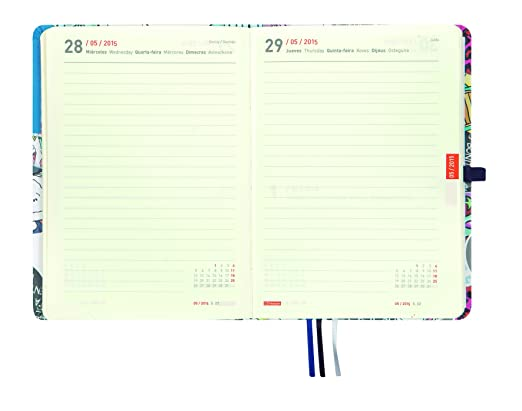 Finocam Agenda 2015 Día Página Sintético (120x170mm ...