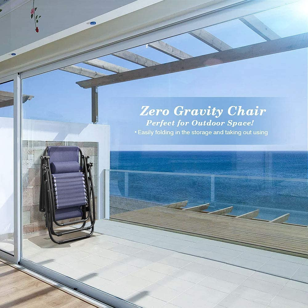 Homall Zero Gravity Chair compact size