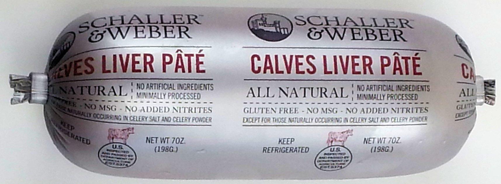 All Natural Calves Liver Pate (6 pack)