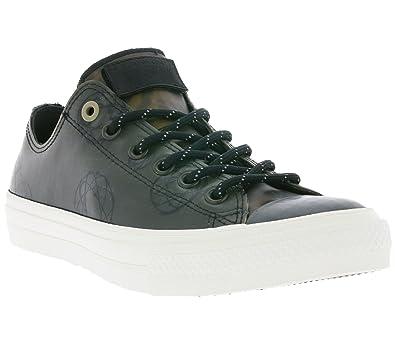 Converse Mens CTAS II OX Futura Black Camo Black Camo Leather Size 11 2247f3b36