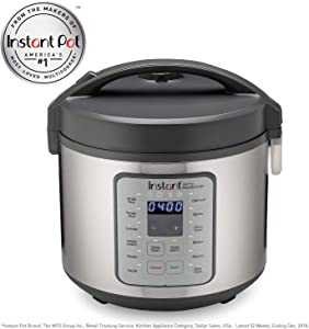 Instant Zest Plus Rice and Grain Cooker - 20 cup rice cooker from the makers of Instant Pot