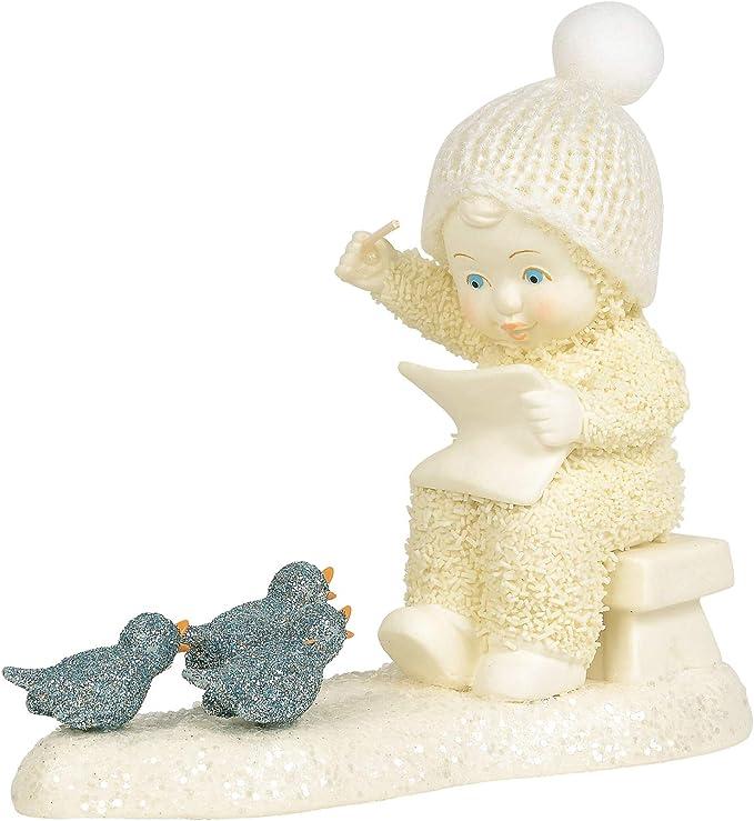Multicolor Department 56 Snowbabies Peace Lamplight Melodies Lit Figurine 6.75 Inch