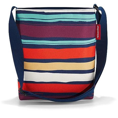 reisenthel shoulderbag S Artist Stripes Maße: 29 x 28,5 x 7,5 cm/Volumen: 4,7 l