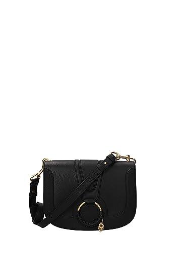 6d8496d273b Amazon.com: See by Chloe Women's Hana Saddle Bag, Black, One Size: Shoes