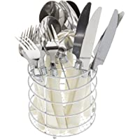 Gibson Sensations Stainless Steel 16-Piece Flatware Set (White)