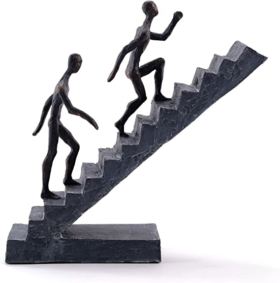 DESIGN DELIGHTS Moderna Escultura Escaleras | Figuras de 11