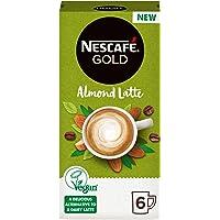 Nescafe Gold Almond Latte, 6 Sachets x 16 gm
