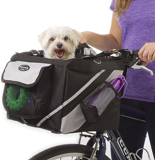 EgBert Mascota Cachorro Bicicleta Cesta Almacenamiento Cachorro ...