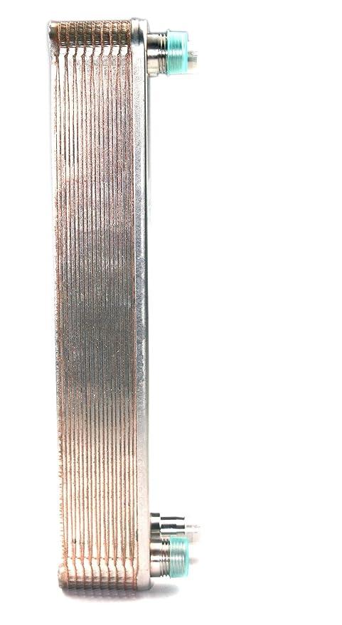 Intercambiador de calor de placas de 20 completamente y Juan chiller-copper Chiller soldada platos Wort ...