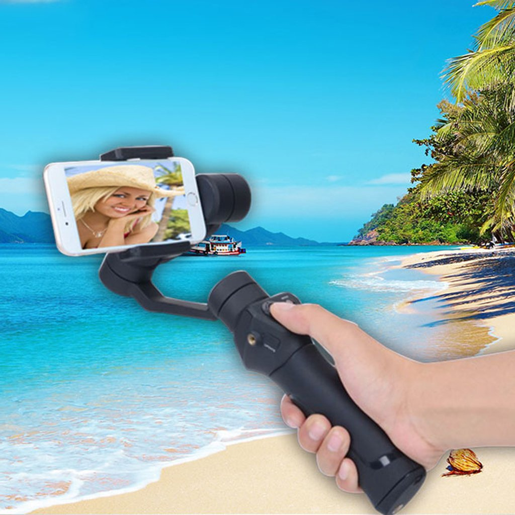 Dovewill Handle Grip Smooth 3-Axis Handheld Gimbal Stabilizer for Android Phone US by Dovewill (Image #10)