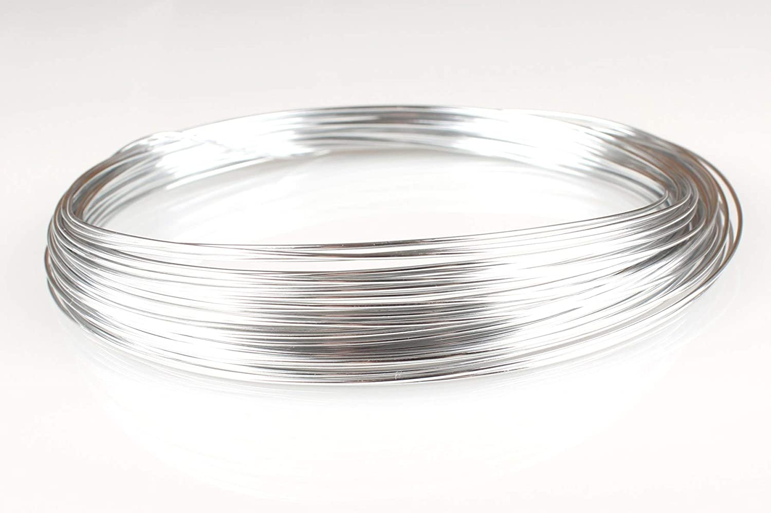 Silver Aluminum Wire 30 ft Creacraft Beading Wire 10m 2mm
