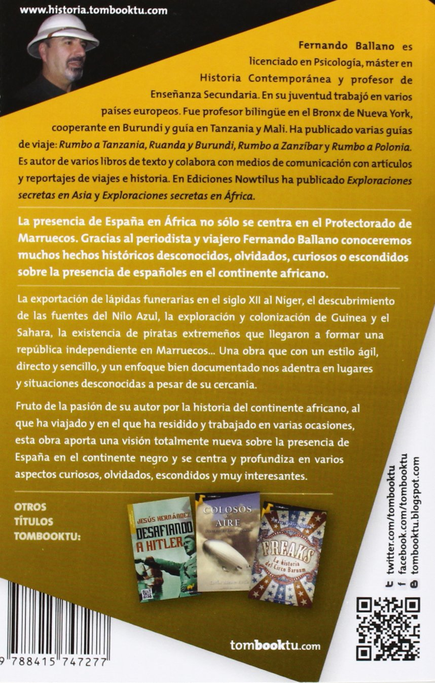 Españoles en África (Tombooktu Historia): Amazon.es: Ballano ...