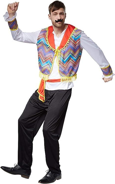 dressforfun 900565 - Disfraz de Hombre Mejicano, Traje Chaleco ...