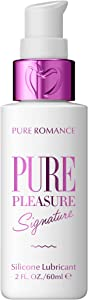Pure Pleasure Silicone Lubricant for Men and Women | Romance Gel for Nighttime