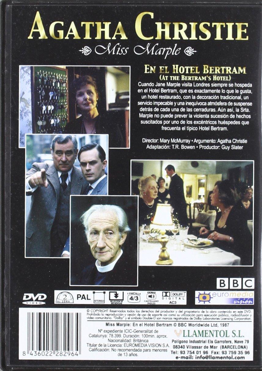 Amazon.com: En El Hotel Bertram (Agatha Christie) (Import Movie) (European Format - Zone 2) (2006) Joan Hickson; Helena: Movies & TV